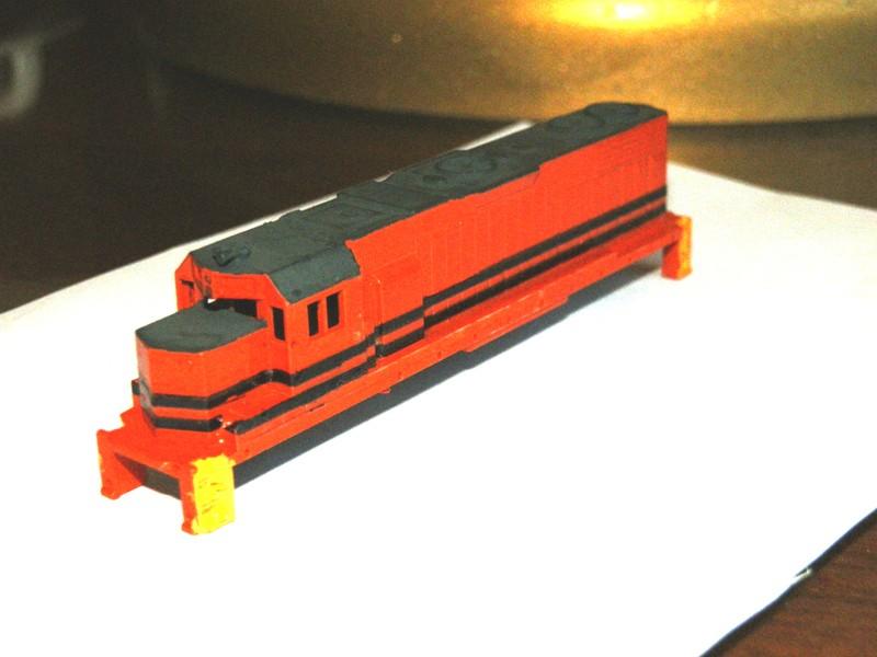 Déco GP38-2 Ferrocarril Chiapas Mayab / Genesee & Wyoming P8100619