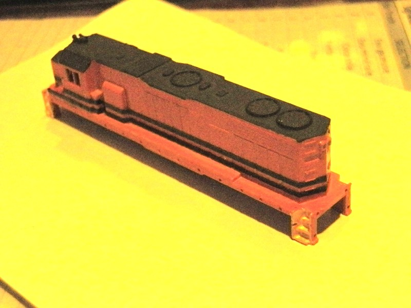Déco GP38-2 Ferrocarril Chiapas Mayab / Genesee & Wyoming P8100620