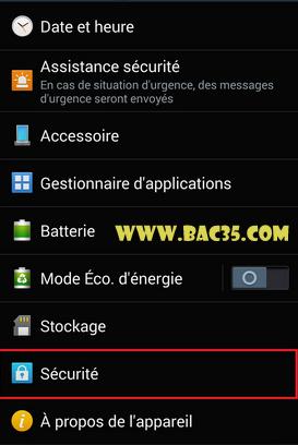 جعل الهاتف يقبل التطبيقات الخارجية ( مثل المنقولة عن طريق carte mémoire ) Screen12