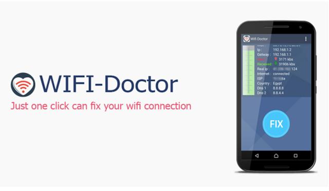 لا مشاكل لاتصالك بالنت بعد الآن تطبيق Wifi Doctor للهواتف والطابلات Screen20