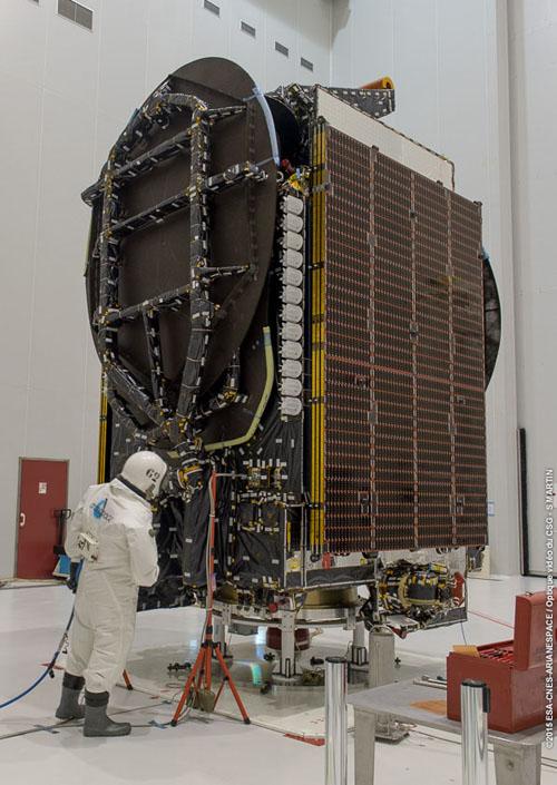 Lancement Ariane 5 ECA VA225 / Eutelsat 8 West B + Intelsat 34 - 20 août 2015 Intels10