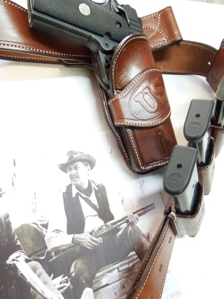 """ WILD BUNCH ""holster ""RANGER'S"" by SLYE  Dscf2627"