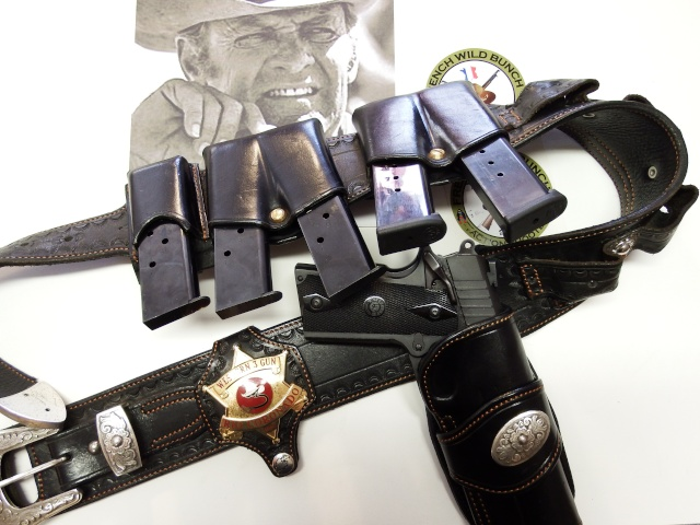 """ WILD BUNCH ""holster ""RANGER'S"" by SLYE  Ranger10"