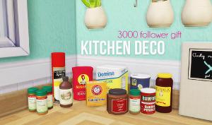 Декоративные объекты для кухни Image205