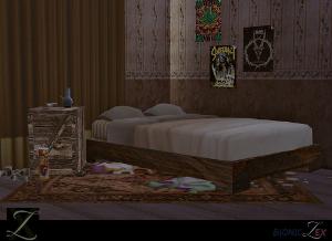 Спальни, кровати (деревенский стиль)   Image224