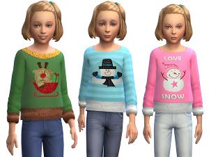 Для детей (топы, рубашки, свитера) - Страница 2 Image287