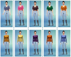 Повседневная одежда (топы, рубашки, свитера) - Страница 6 Image296