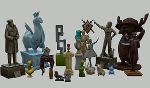 Фонтаны, статуи - Страница 4 Image441