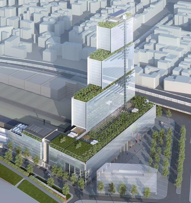 [Bientôt visible sur Google-Earth] Futur Palais de Justice - Paris Palais11