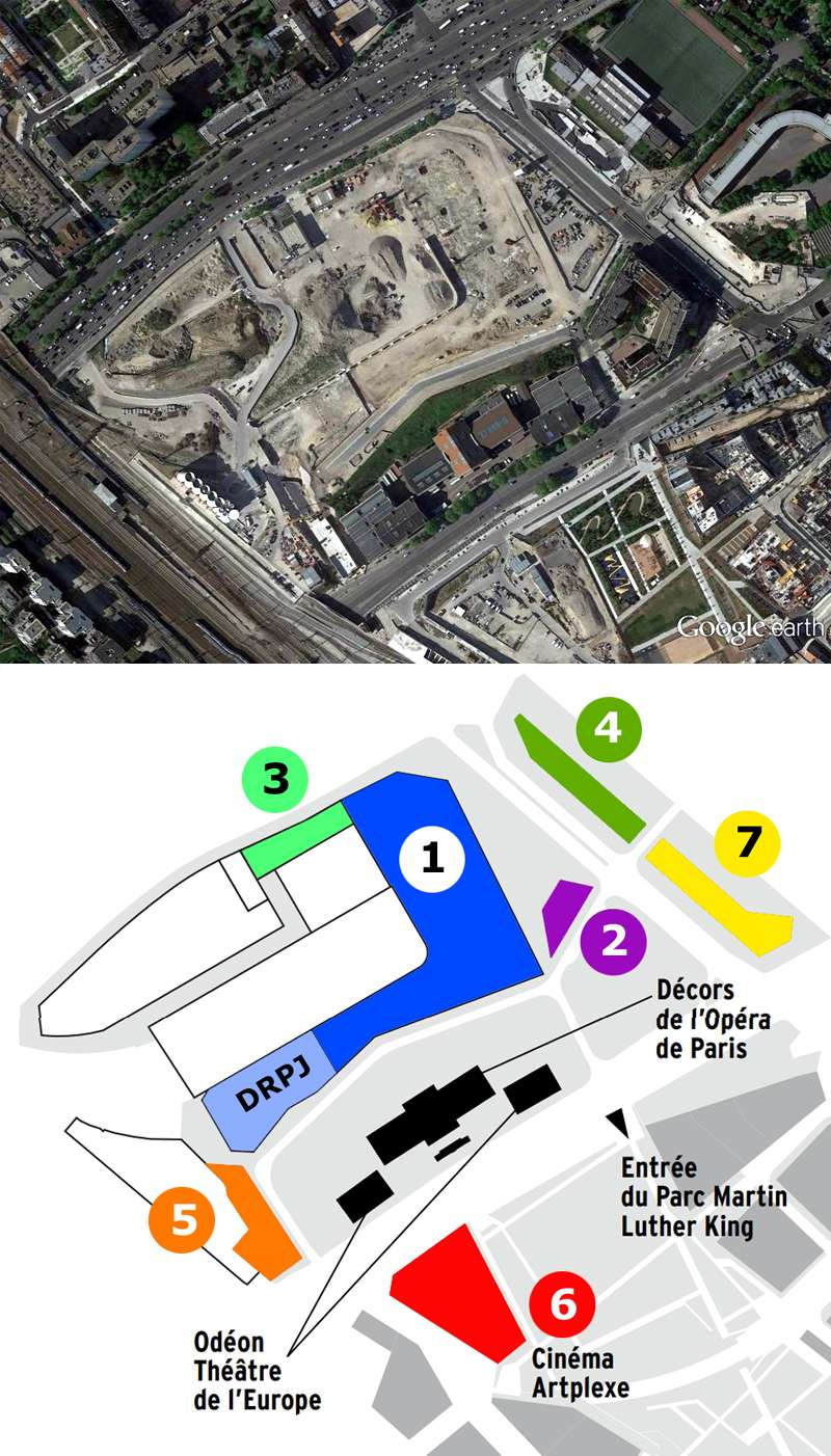 [Bientôt visible sur Google-Earth] Futur Palais de Justice - Paris Palais12