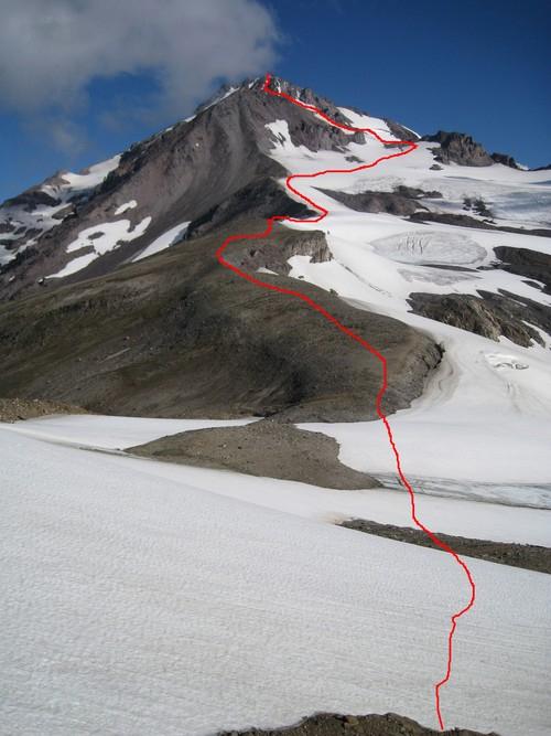 L'arc volcanique des Cascades (sujet participatif) Route_10