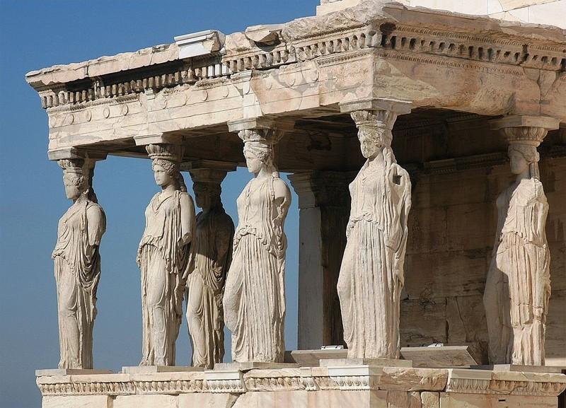 ARCHITECTURE : cariatides et atlantes Yyrech11