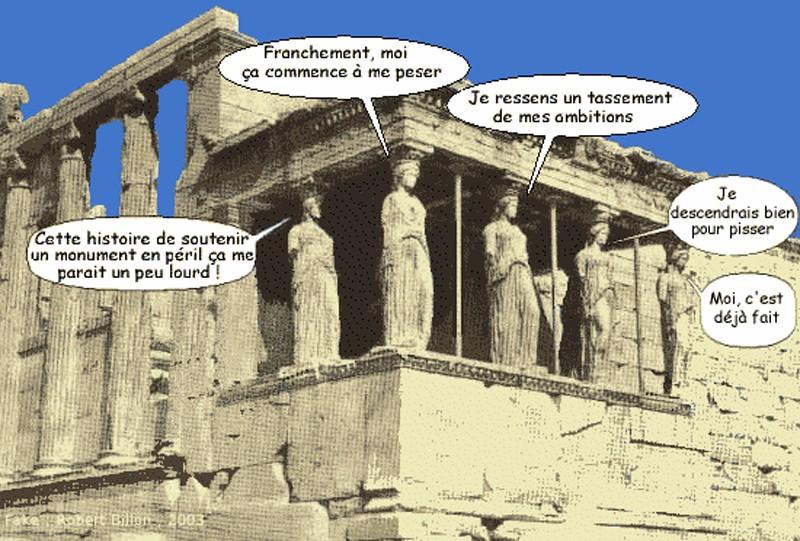 ARCHITECTURE : cariatides et atlantes Yyrech12