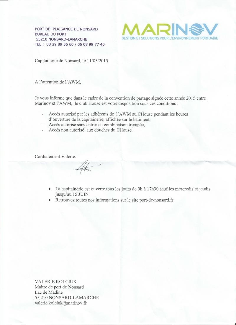 ACCES AU CLUB HOUSE Accesc10