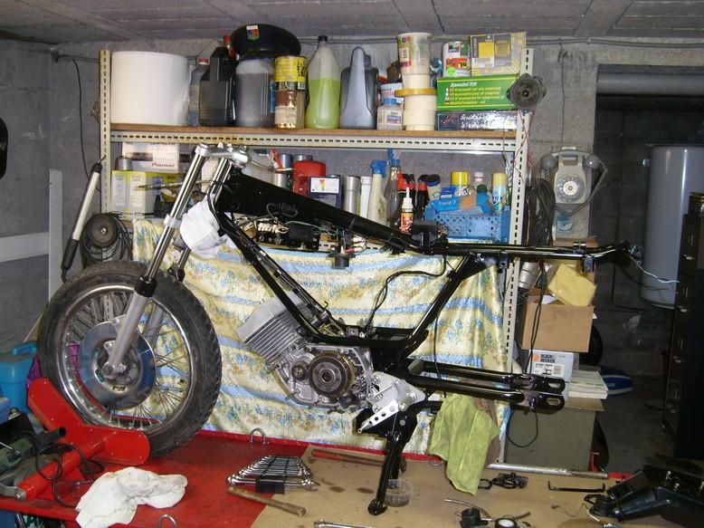 Coupe Tôle Motobecane Sl270811