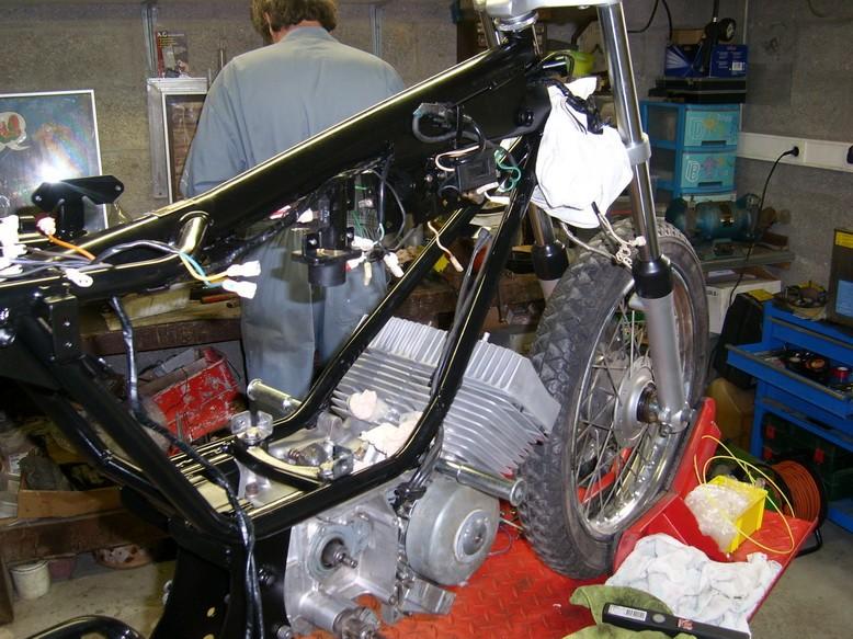 Coupe Tôle Motobecane Sl270813