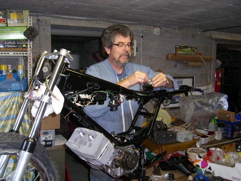 Coupe Tôle Motobecane Sl270814