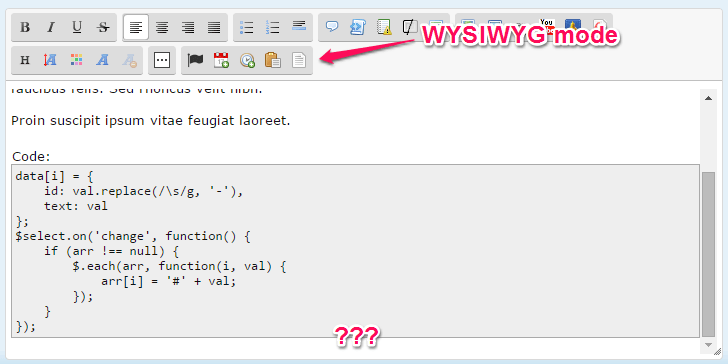 SCEditor problem - Lost content Afterb10