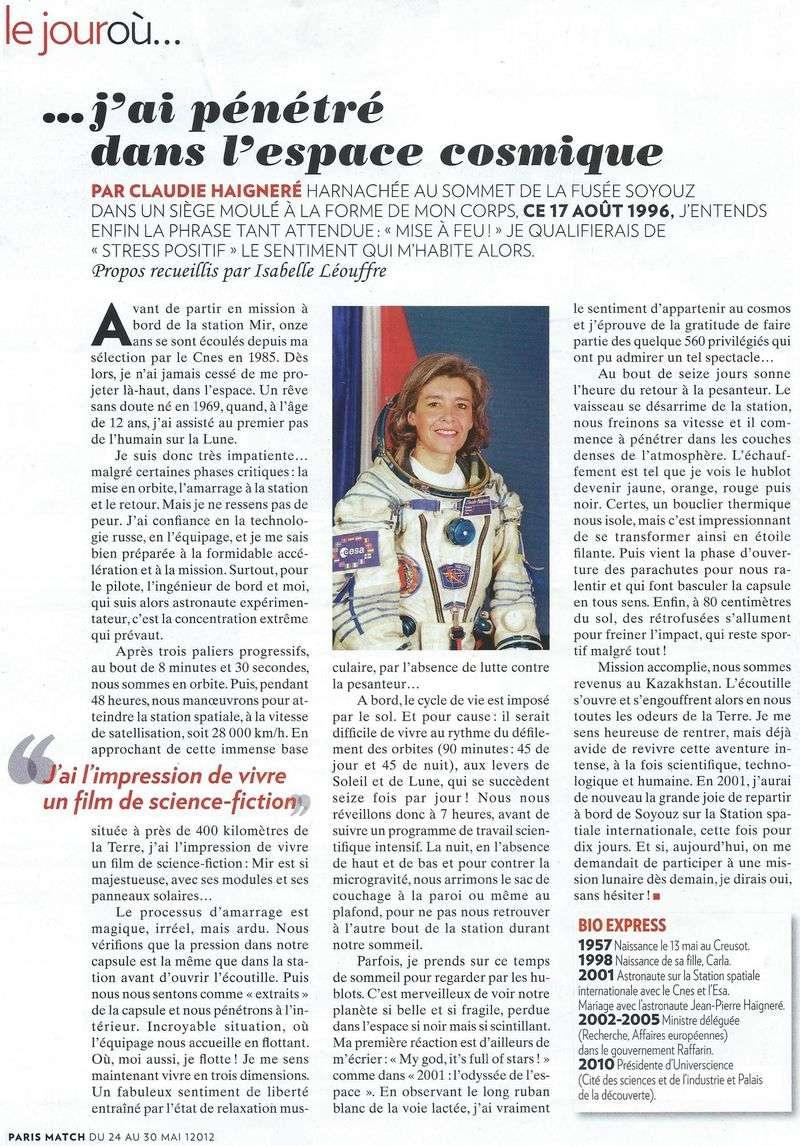 Claudie Haigneré - 1ère Française dans l'espace - Page 2 12052410