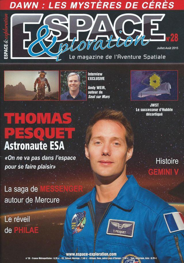 Espace & Exploration n°28: Thomas Pesquet, astronaute ESA 15070010