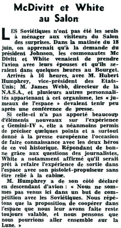 Salon du Bourget 1965 - Page 2 65070111