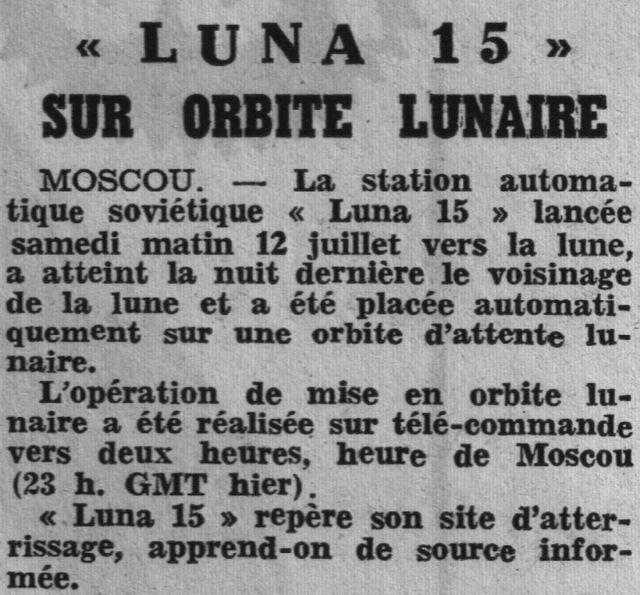 13 juillet 1969 - Luna 15, le joker soviétique 69071710