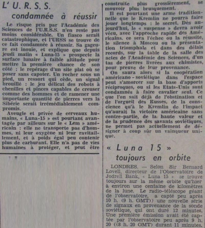 13 juillet 1969 - Luna 15, le joker soviétique 69071911
