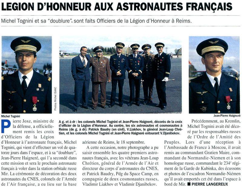 Michel Tognini - 3ème Français dans l'espace 92092810