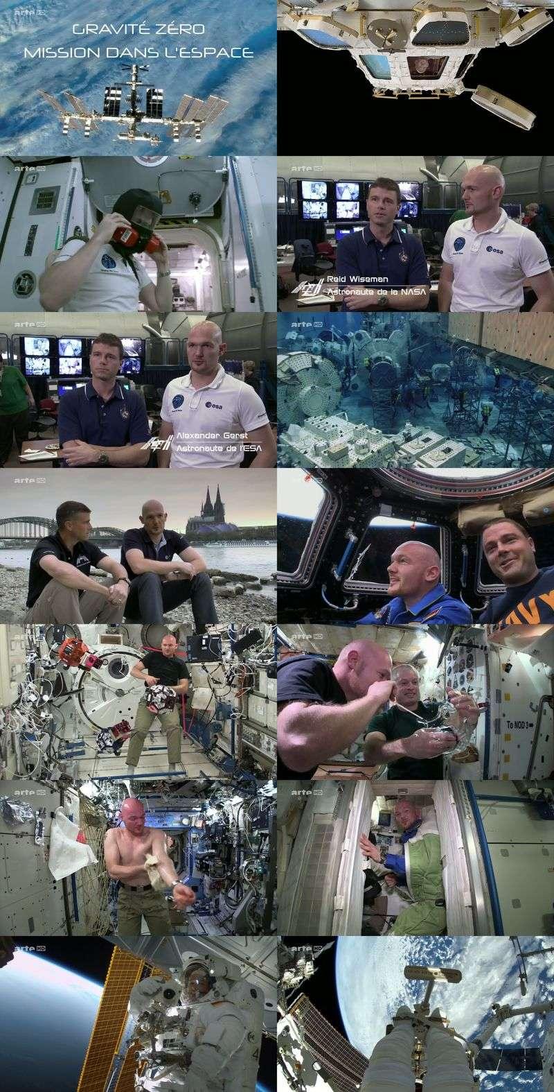 Gravité Zéro - Mission dans l'espace - 7 Août 2015 - ARTE Panora11