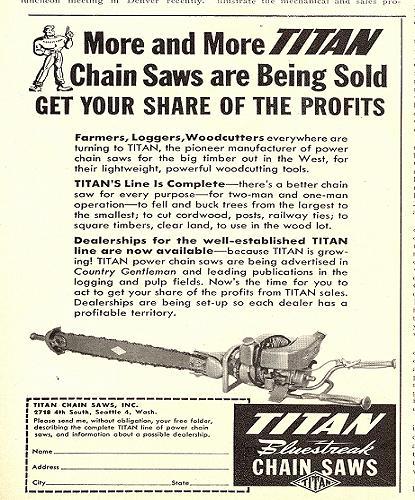titan chainsaws Titan10