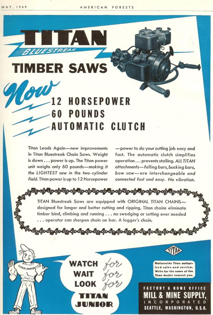titan chainsaws Titan411