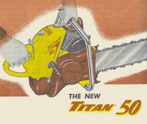 titan chainsaws Titan510
