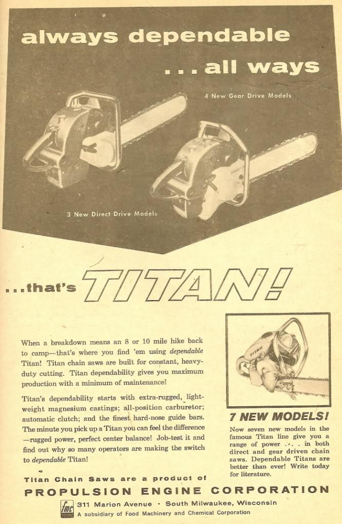 titan chainsaws Titan513
