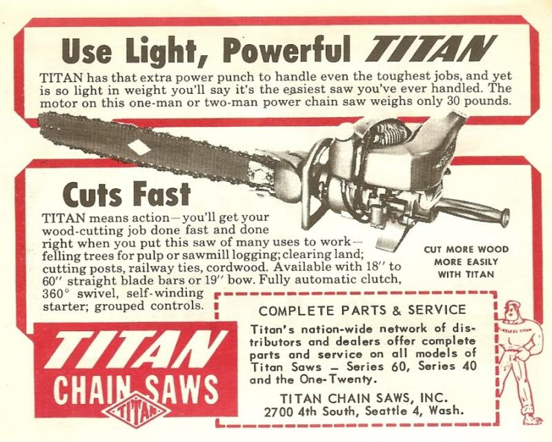titan chainsaws Titana10