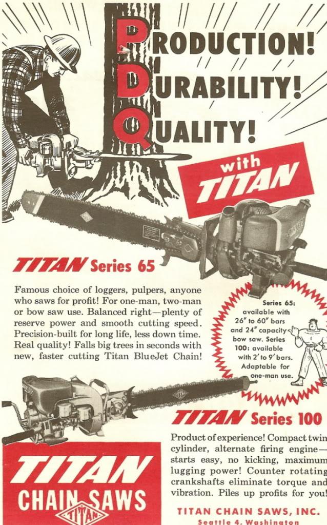 titan chainsaws Titand10