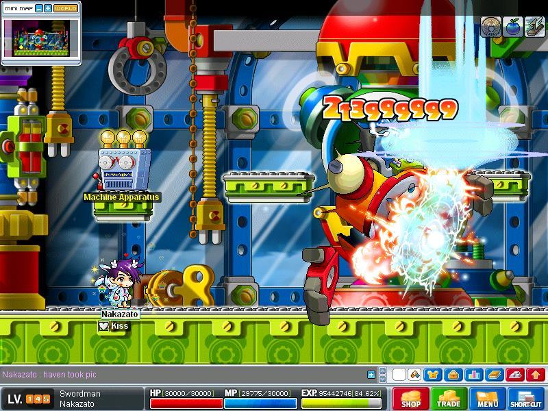 3rd hacker got by Nakazato! :D Maple015