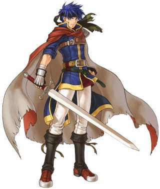 Ike et son épée ravageure Ike11