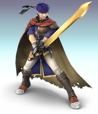 Ike et son épée ravageure Ike210