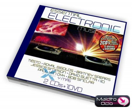 Essential Electronic 2009 -  CD 1 y 2 12598110