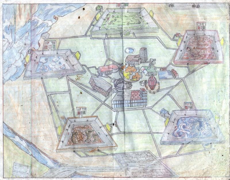 Pokemon spoof: Dekagion Map Dekagi10