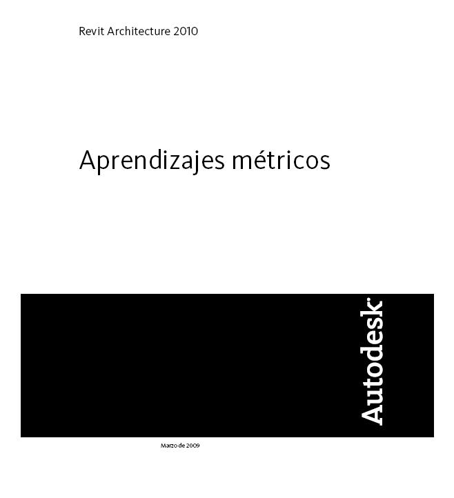 Aprendizajes métricos Revit Architecture 2010 Aprend10
