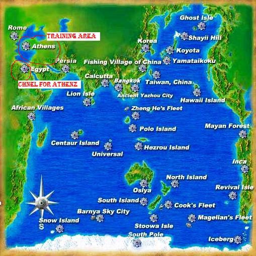 World Map / Trainin area For Reborns 1011