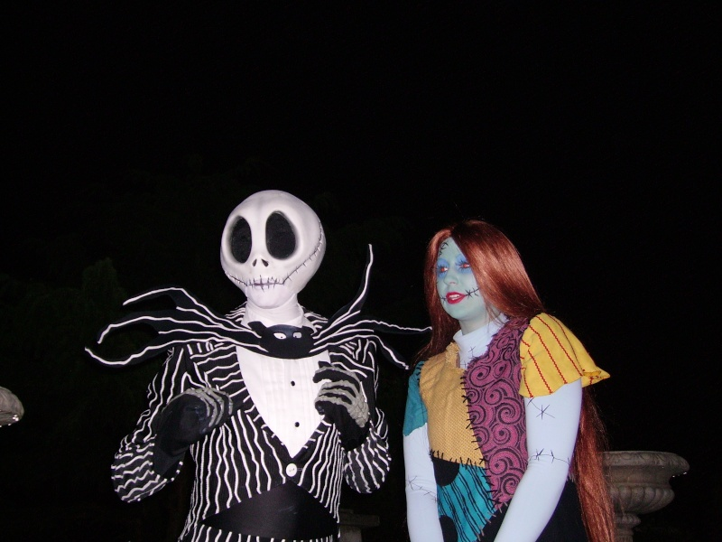 Jack et Sally Disney10