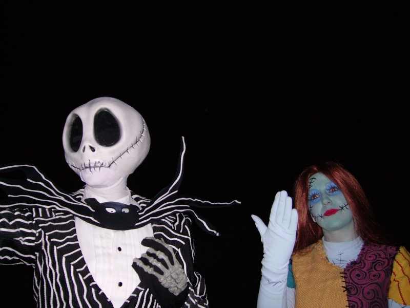 Jack et Sally Disney11