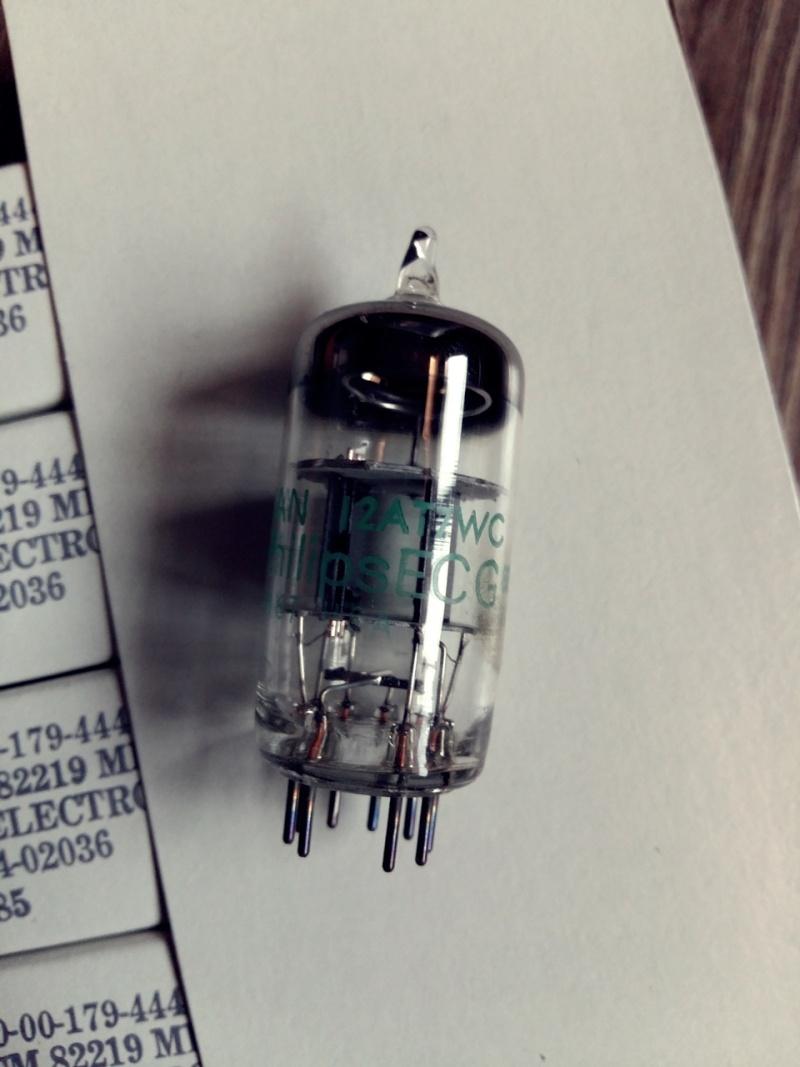 Vacuum Tube, 12au7, 12ax7, 6dj8 20150721