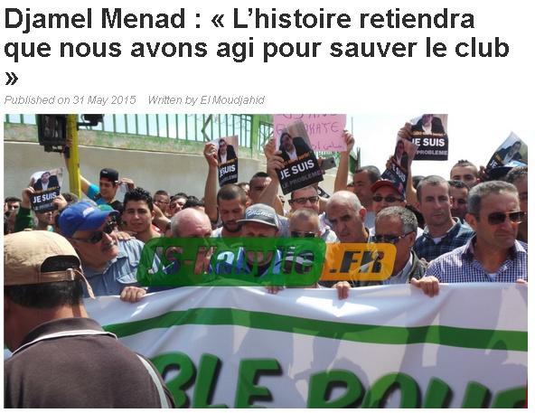 Djamel MENAD, Retour sur une riche carrière avec la JSK - Page 2 20150610