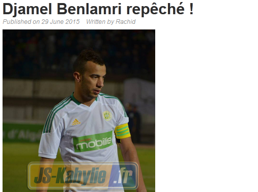 [25] Djamel BENLAMRI - Page 12 20150610