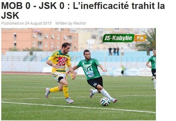 [L1, Journée 2] MO.Béjaia 0 - 0 JS.Kabylie (Après match) - Page 2 20150825