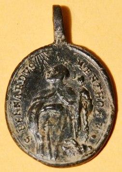 Médaille St-François-de-Paule & St-Bernard-de-Menthon - fin XVII/XVIIIème Dsc_0113