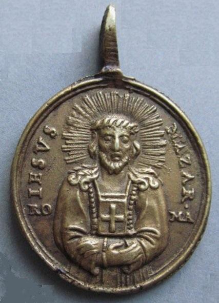 Médaille Jésus de Nazareth - XVIIIème Il_57011